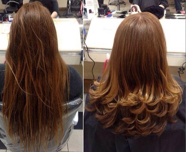 Estilos de cortes de cabello en capas