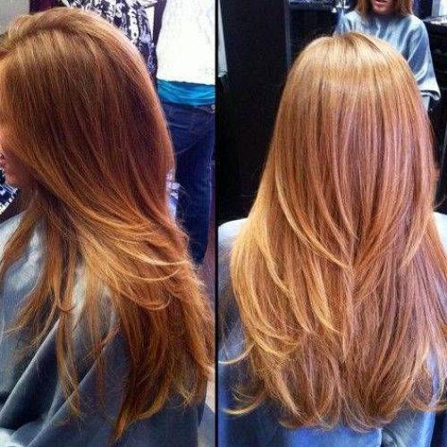 Como realizar un corte de cabello escalonado
