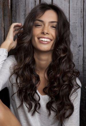 Imagenes de cabello largo chino
