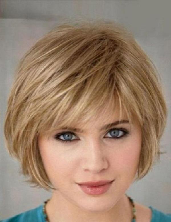 El bob corto para cabello fino y lacio