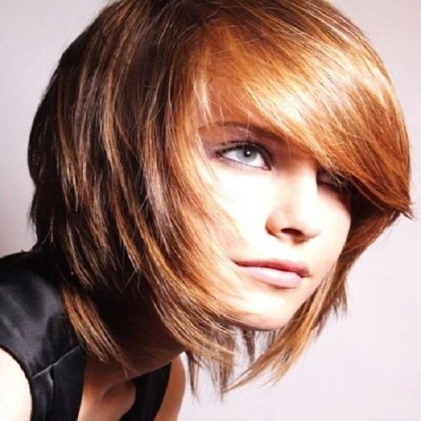 corte de cabello asimétrico