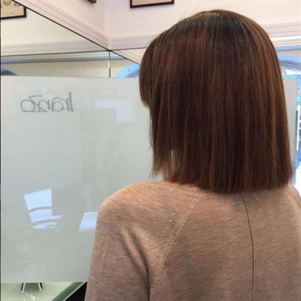 media melena recta 27 fotos sobre el cabello