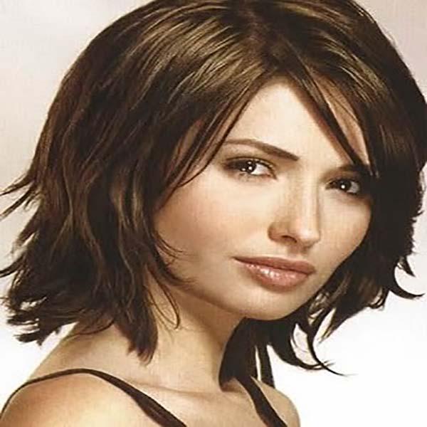28 peinados nuevos media melena a capas sobre el cabello - Corte de melenas ...