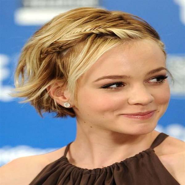 Atrevido y bonito peinados recogidos pelo corto Fotos de las tendencias de color de pelo - 20 Peinados nuevos recogidos pelo corto - Sobre el cabello