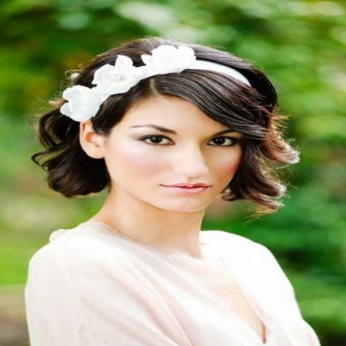 Extremadamente atractivo peinados para boda media melena Fotos de estilo de color de pelo - 35 ideas de peinados boda media melena - Sobre El Cabello