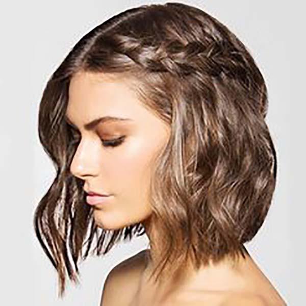 20 Ejemplos De Peinados Faciles Pelo Corto Sobre El Cabello