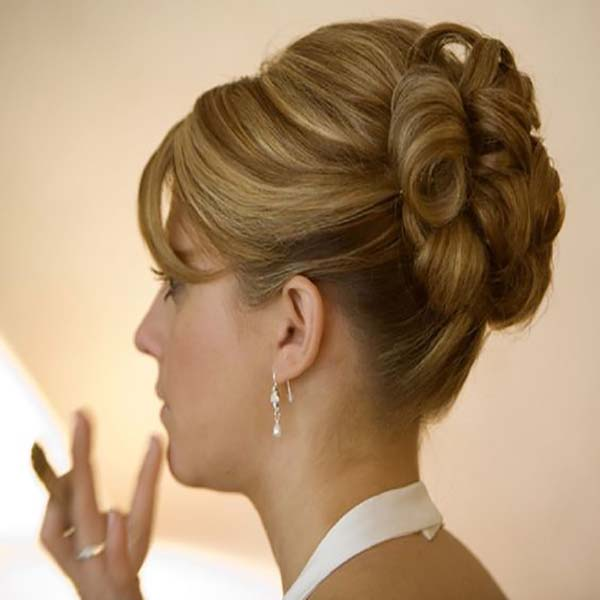 20 peinados nuevos recogidos pelo corto sobre el cabello - Peinados de fiesta melena corta ...