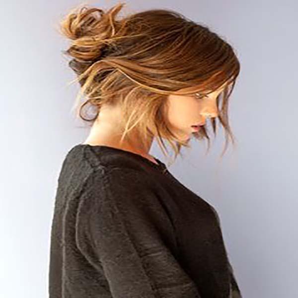 Recogido Pelo Liso Amazing Peinados Y Recogidos Para Una Boda Para