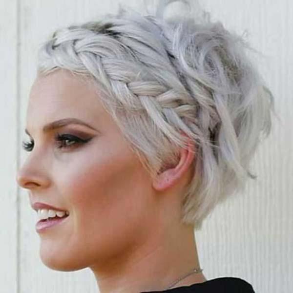 peinados recogidos elegantes con pelo rizado with pelo corto rizado peinados