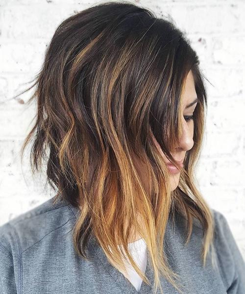Mechas Balayage en pelo corto, media melena y largo