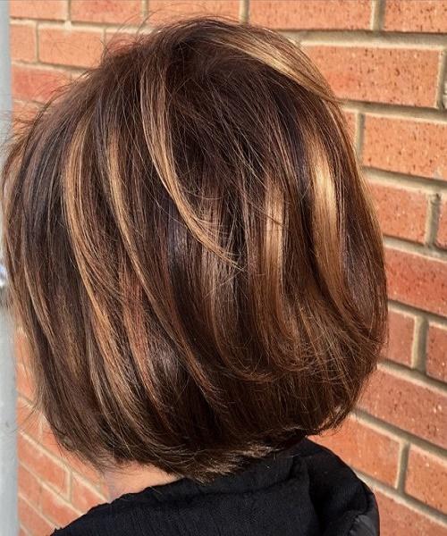Delicioso color marrón entonado