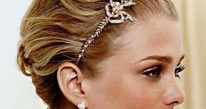 46 ideas de peinados boda pelo corto